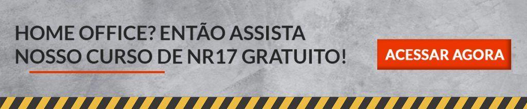 Invista na saúde ocupacional, acesse nosso curso de NR 17 gratuitamente